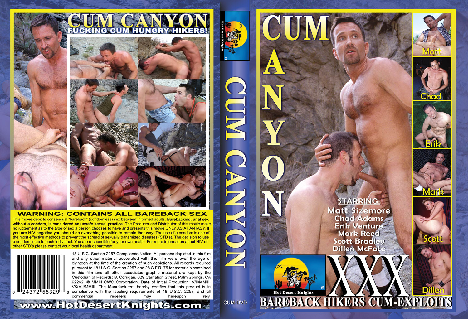 HDK Movie: CUM CANYON