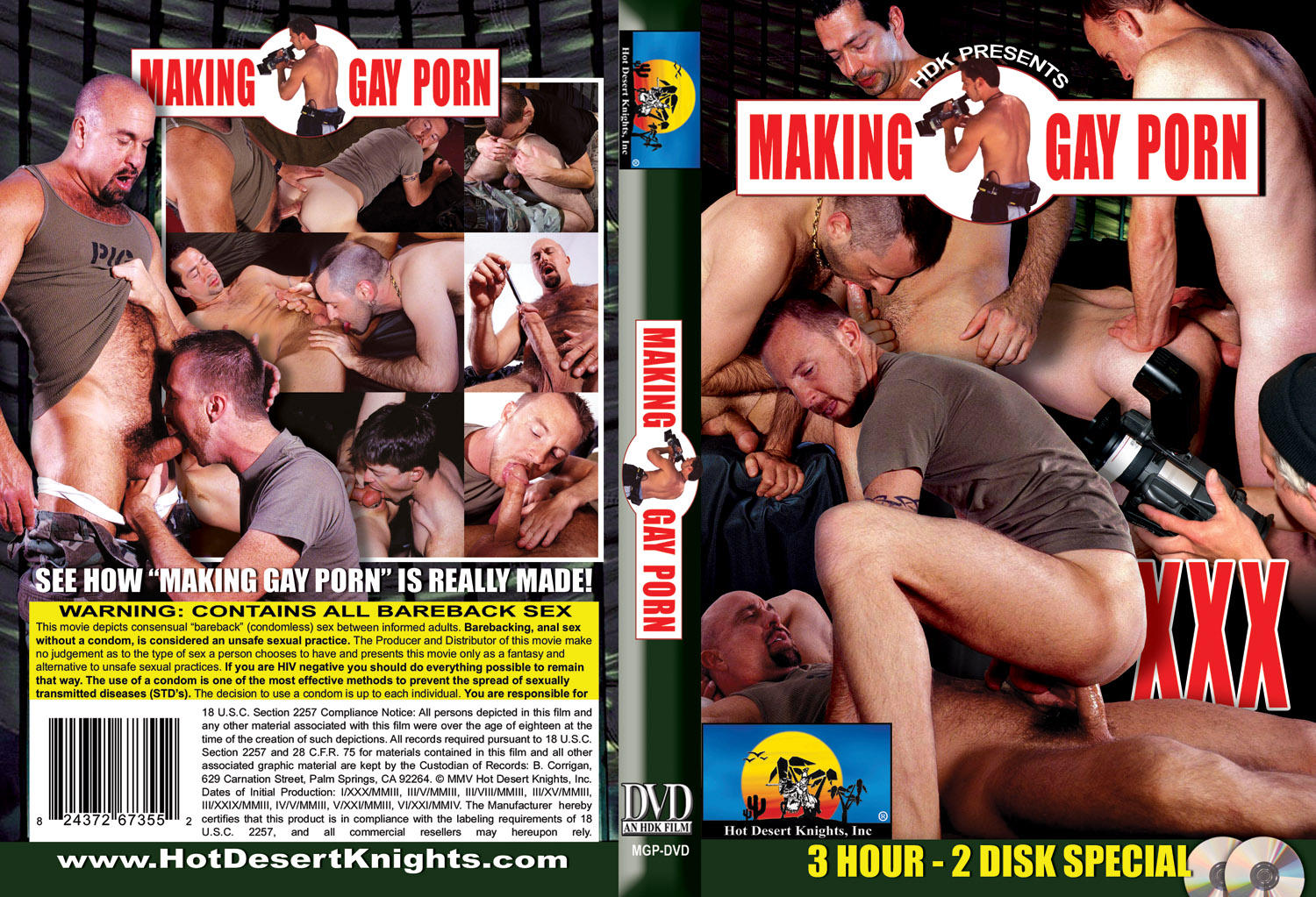 HDK Movie: MAKING GAY PORN