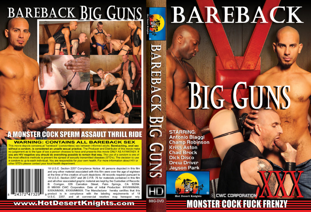 HDK Movie: BAREBACK BIG GUNS