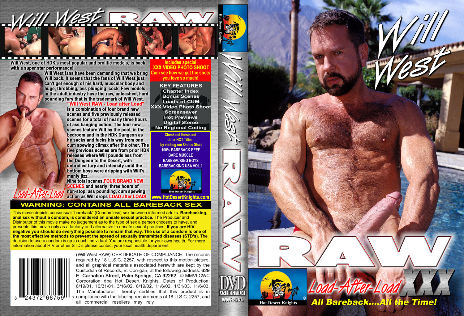HDK Movie: WILL WEST RAW