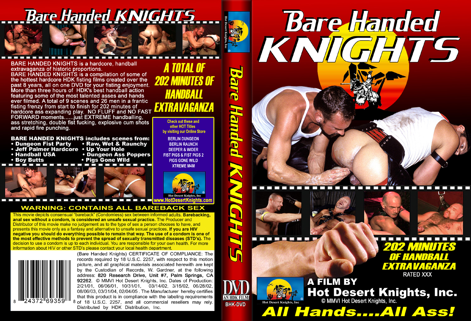 HDK Movie: BARE HANDED KNIGHTS
