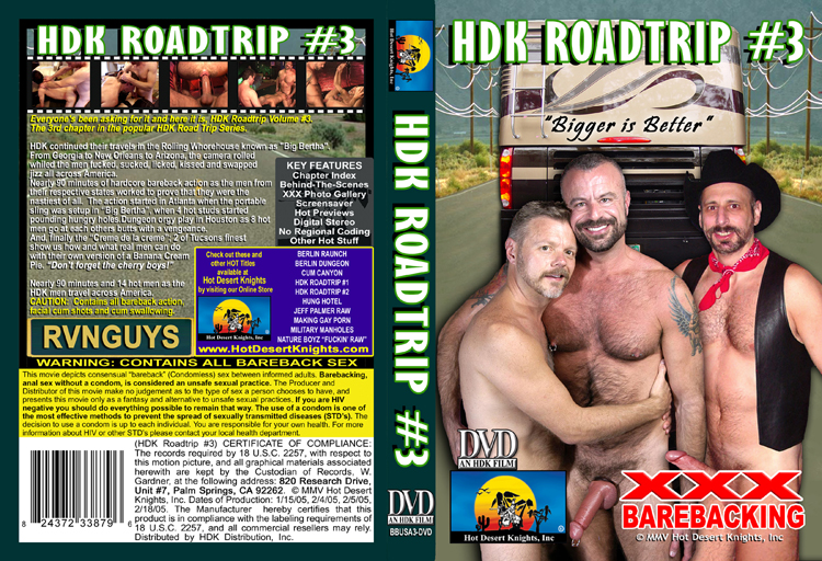 BAREBACKING USA: HDK ROAD TRIP VOL.3