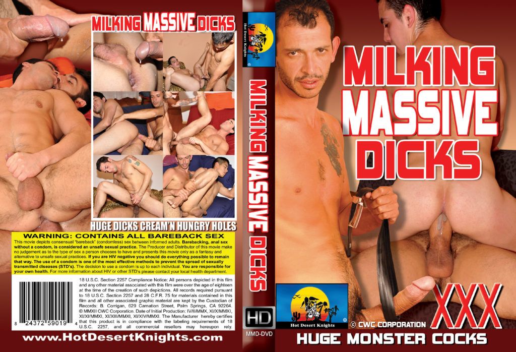 HDK Movie: MILKING MASSIVE DICKS